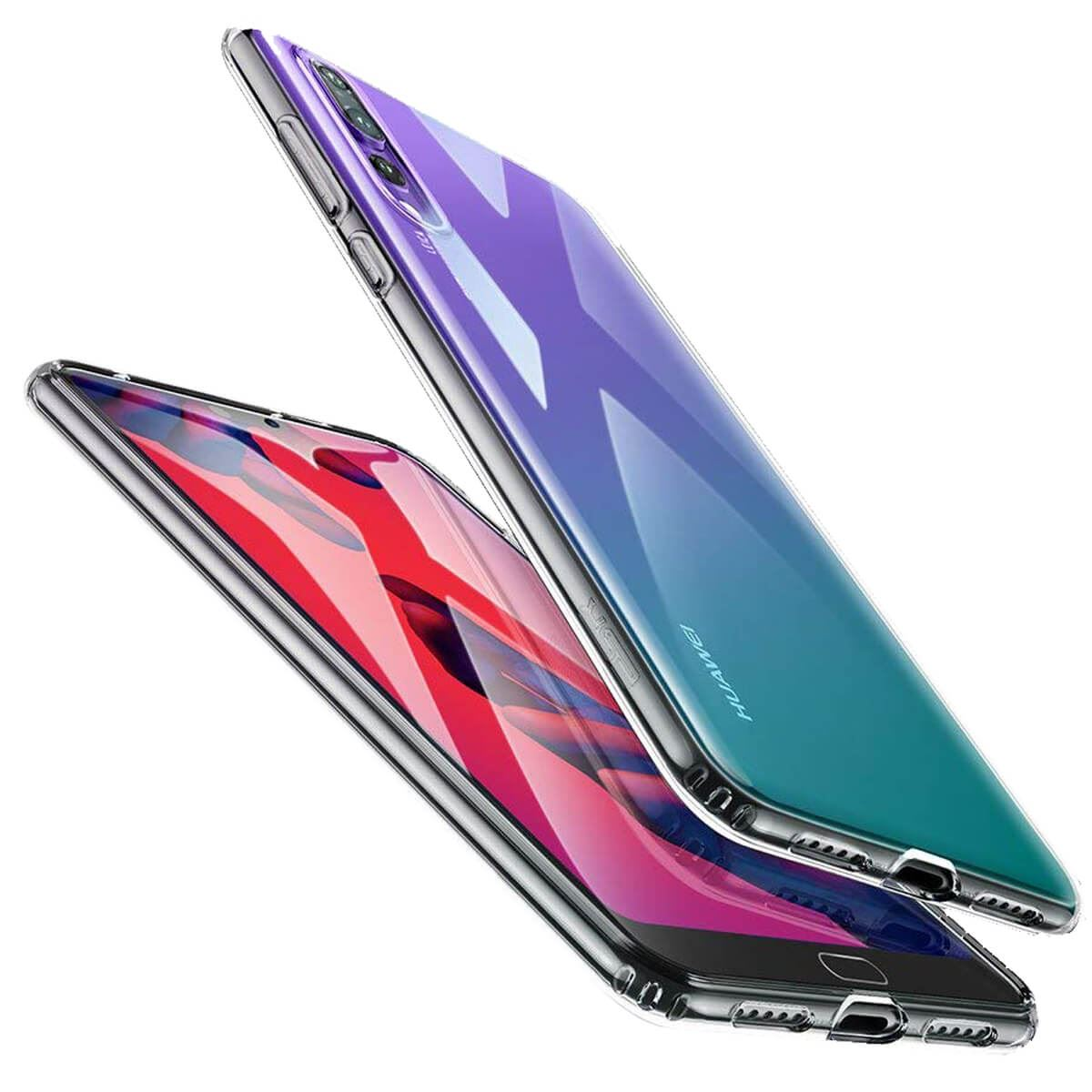 Case-For-Huawei-P20-Pro-P-Smart-Shockproof-Silicone-Protective-Clear-Gel-Cover thumbnail 4