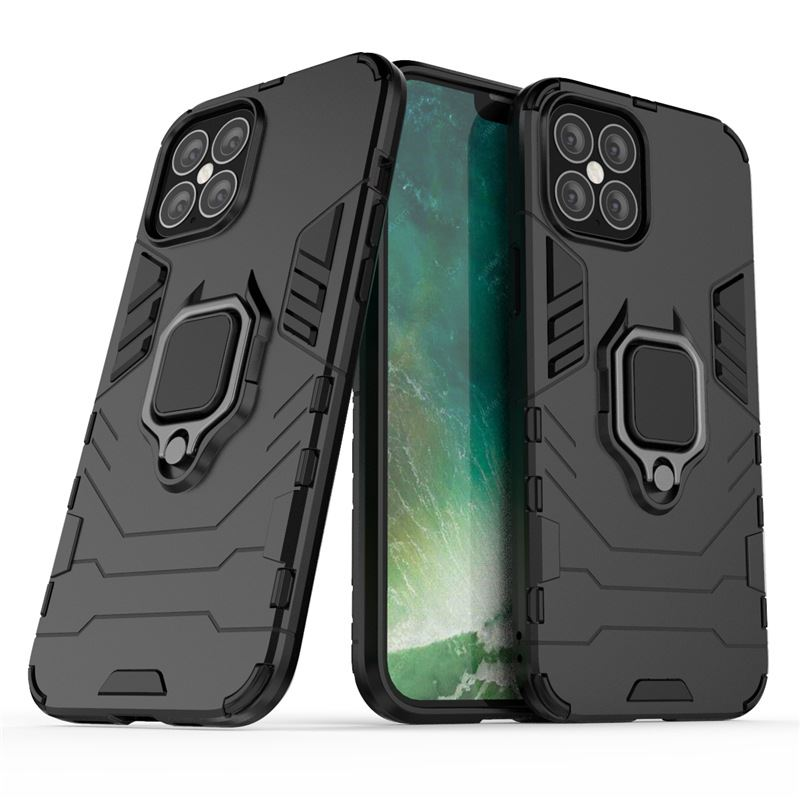 Hybrid-Pc-Case-Cover-For-Apple-iPhone-11-Pro-Max-X-6-7-8-Se-With-Ring-Holder thumbnail 3
