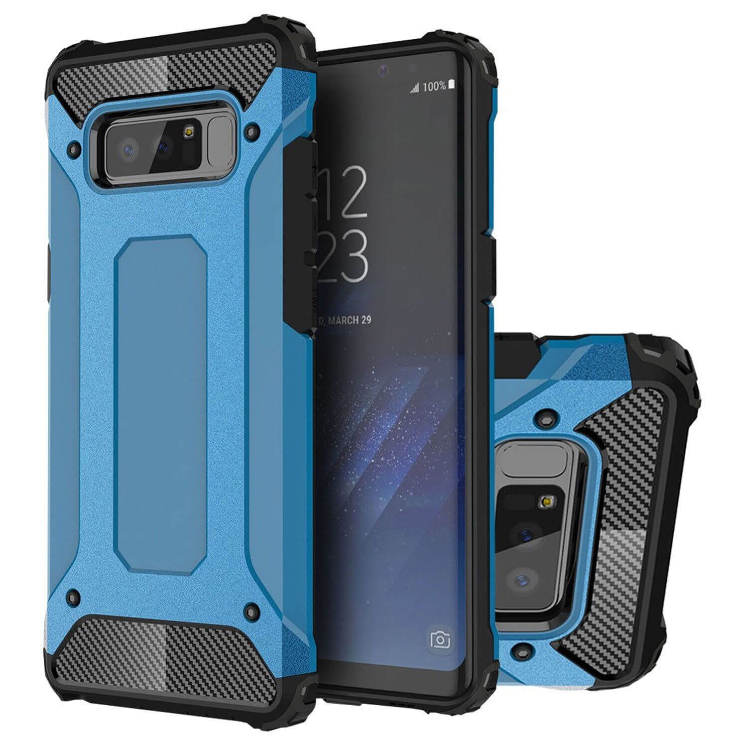 Hybrid-Armor-Shockproof-Rugged-Bumper-Case-For-Samsung-Galaxy-S7-Edge-S8-Note-S9 縮圖 68