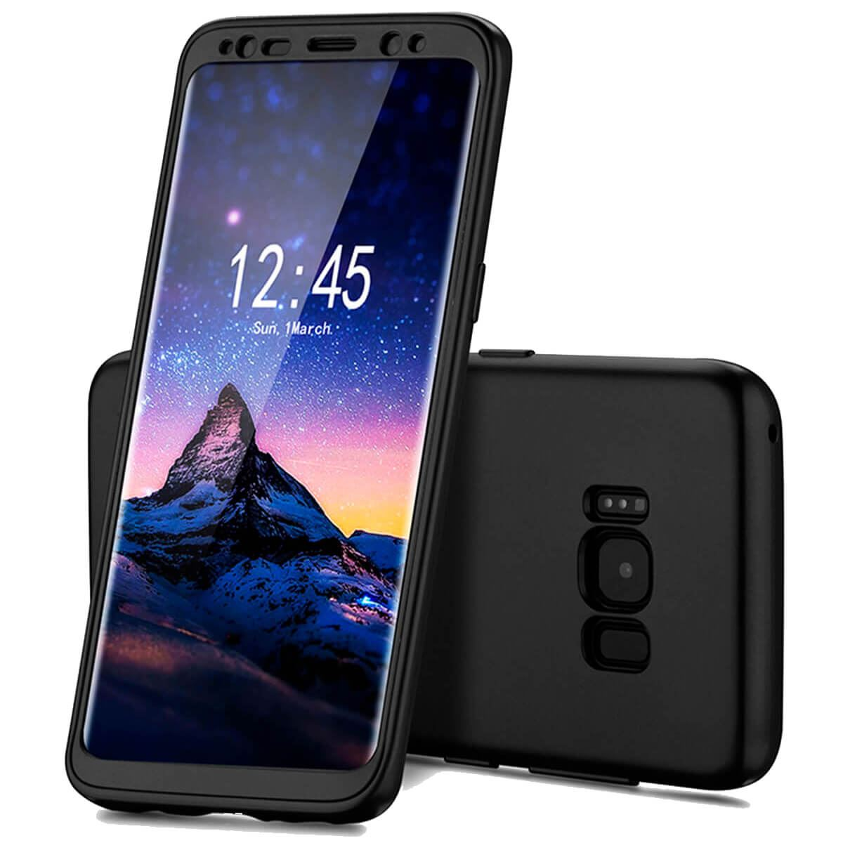 ShockProof-Thin-Case-For-Samsung-Galaxy-S7-edge-S8-Plus-Hybrid-360-TPU-Cover thumbnail 5