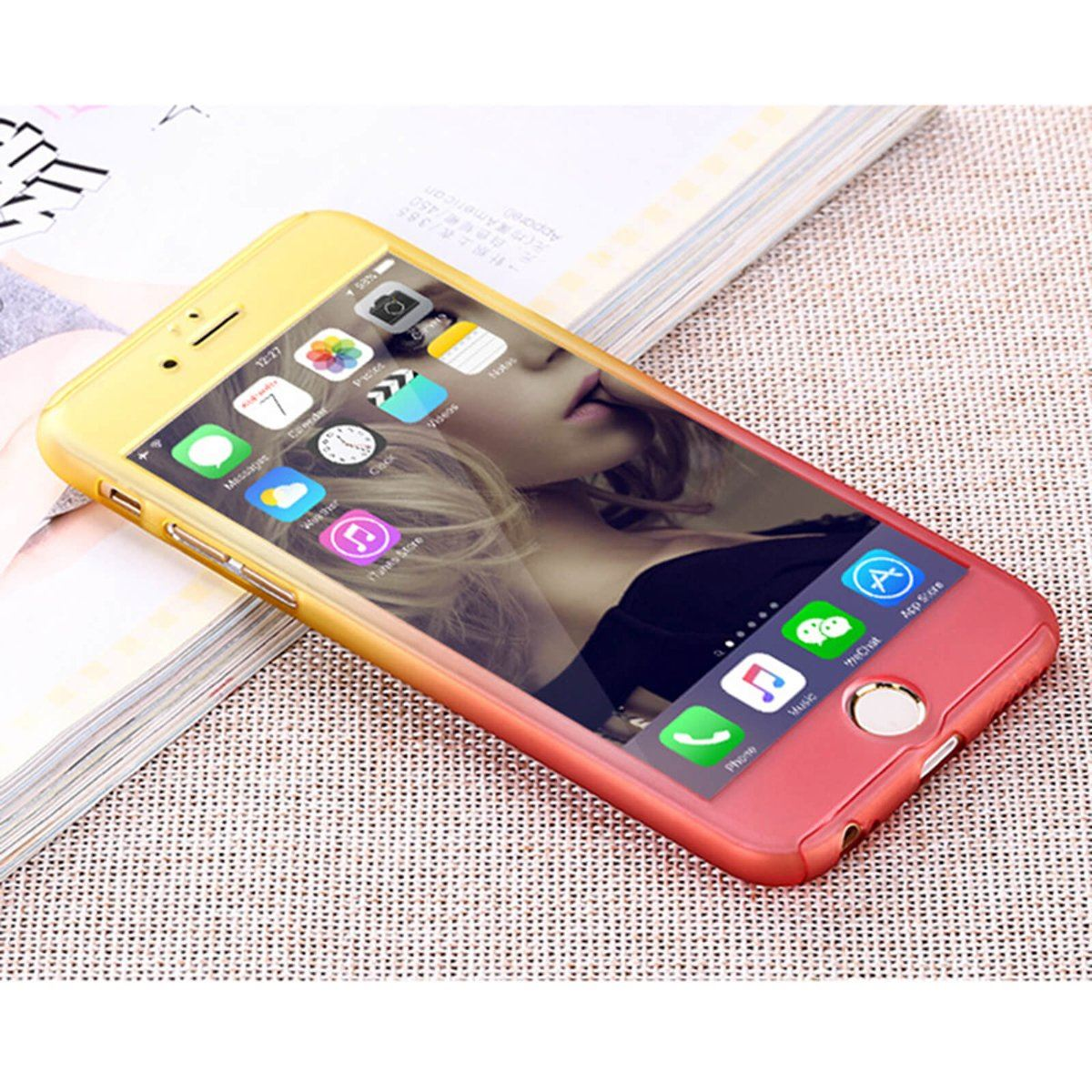 For-Apple-iPhone-XS-Max-XR-Hybrid-360-Slim-Ultra-Thin-Heavy-Duty-Shockproof-Case thumbnail 103