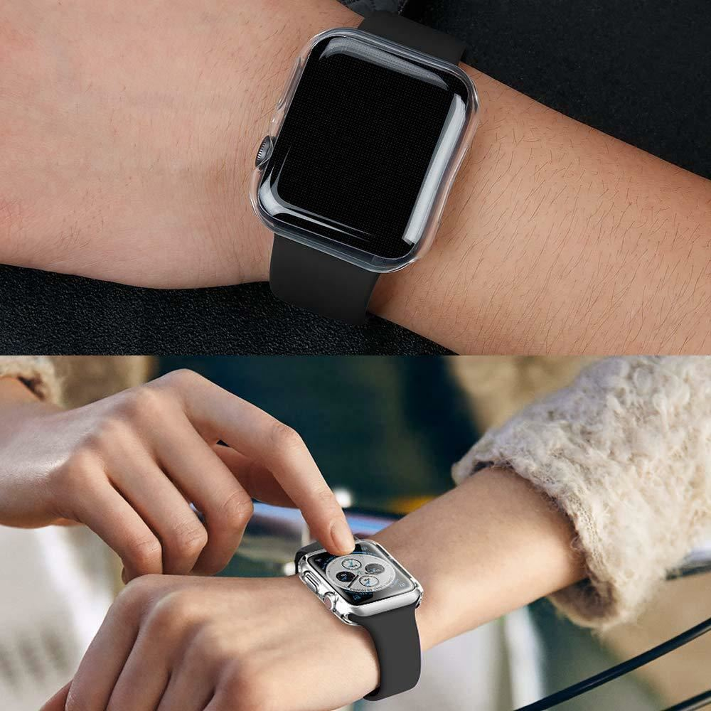 TPU-Gel-Case-For-Apple-Watch-Responsive-Touch-Full-Screen-Curved-Edge-Protective thumbnail 37