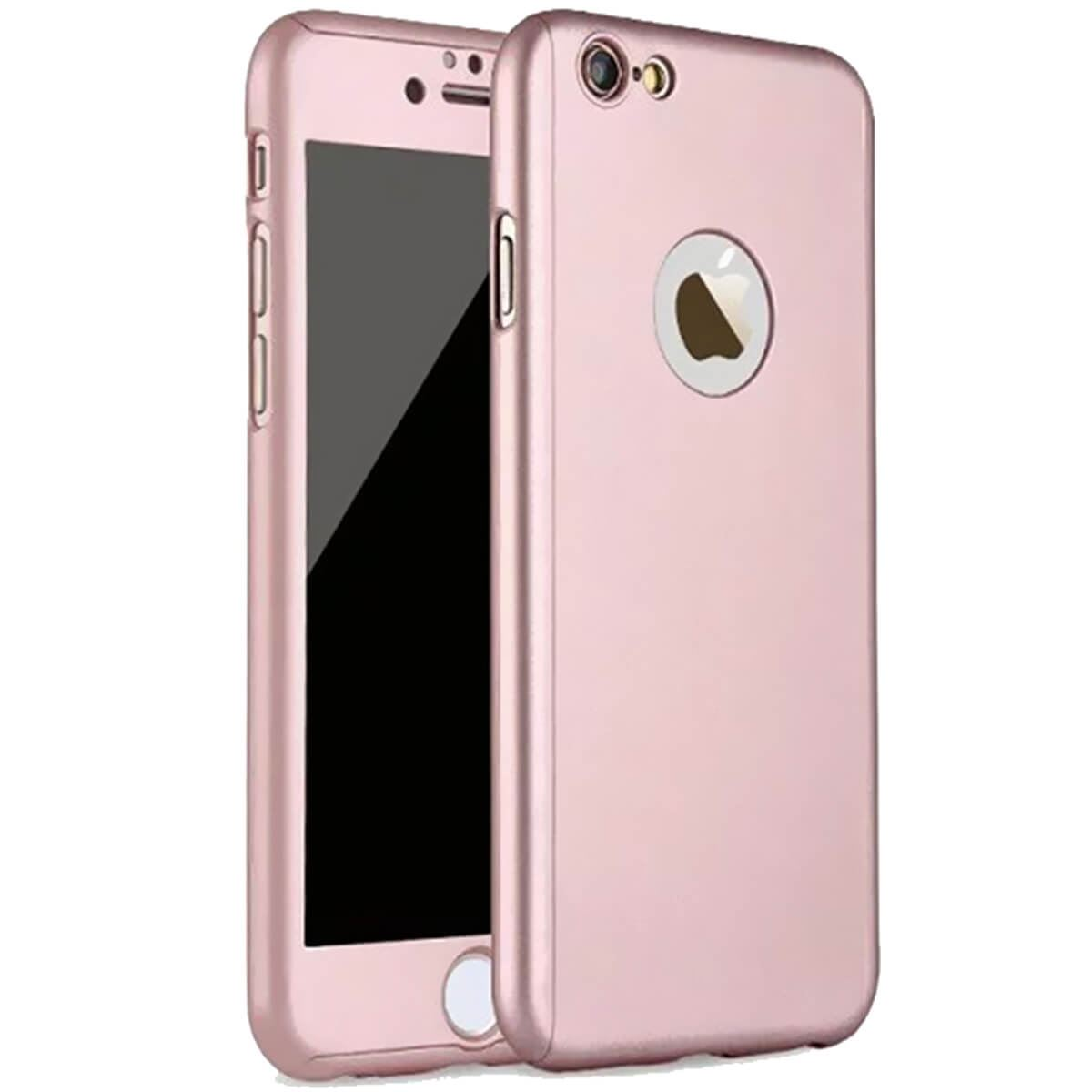 Tempered-Glass-Cover-For-Apple-iPhone-10-X-8-7-6s-5-Hybrid-360-Shockproof-Case thumbnail 42