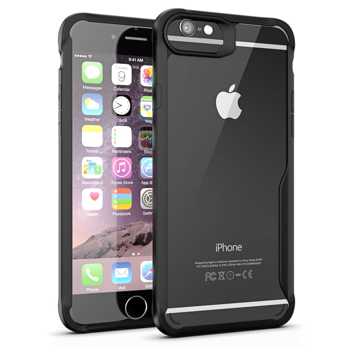 Thin-Shockproof-Case-For-Apple-iPhone-X-8-7-Plus-6s-Clear-Hard-Bumper-TPU-Cover thumbnail 7