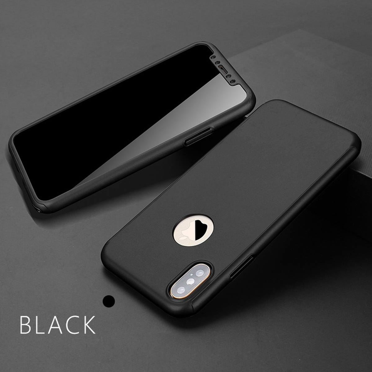 For-Apple-iPhone-XS-Max-XR-Hybrid-360-Slim-Ultra-Thin-Heavy-Duty-Shockproof-Case thumbnail 19