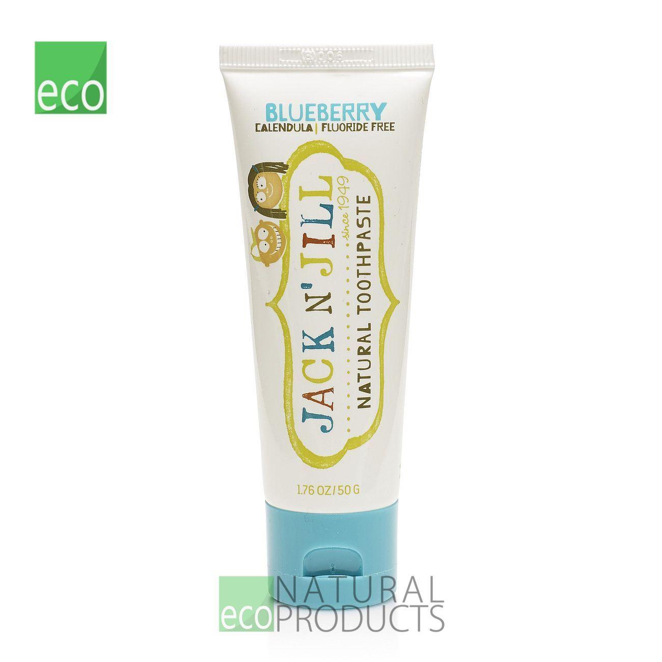 Jack N Jill Kids Natural Toothpaste Blueberry 50g Ebay