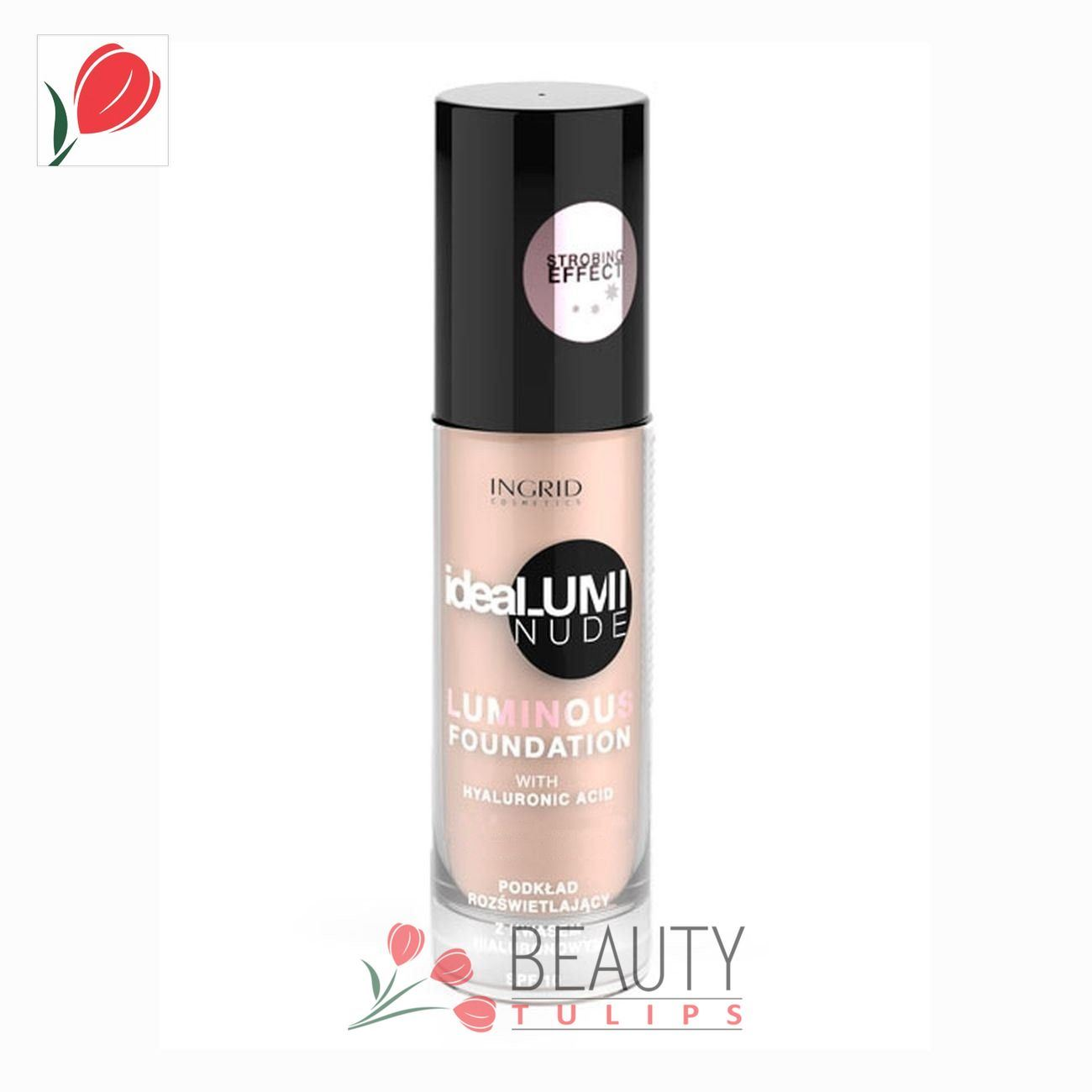 Ingrid Cosmetics Idealumi Nude Foundation SPF 10