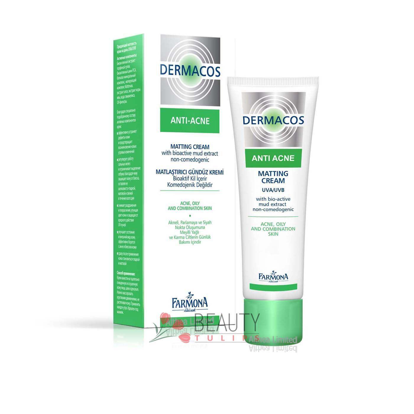 farmona dermacos antiacne matting day cream 50ml