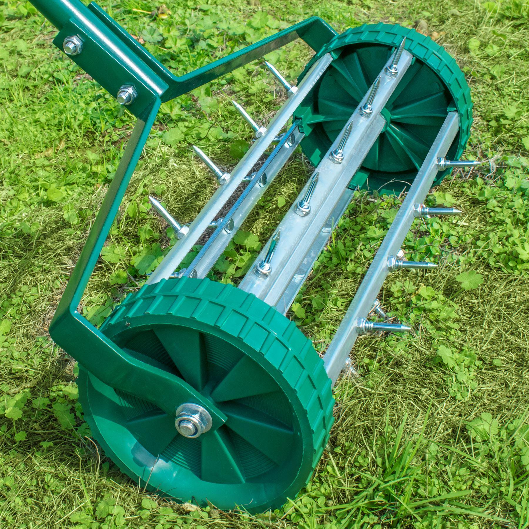 Outdoor Garden Lawn Aerator Spike Soil Roller Gardening