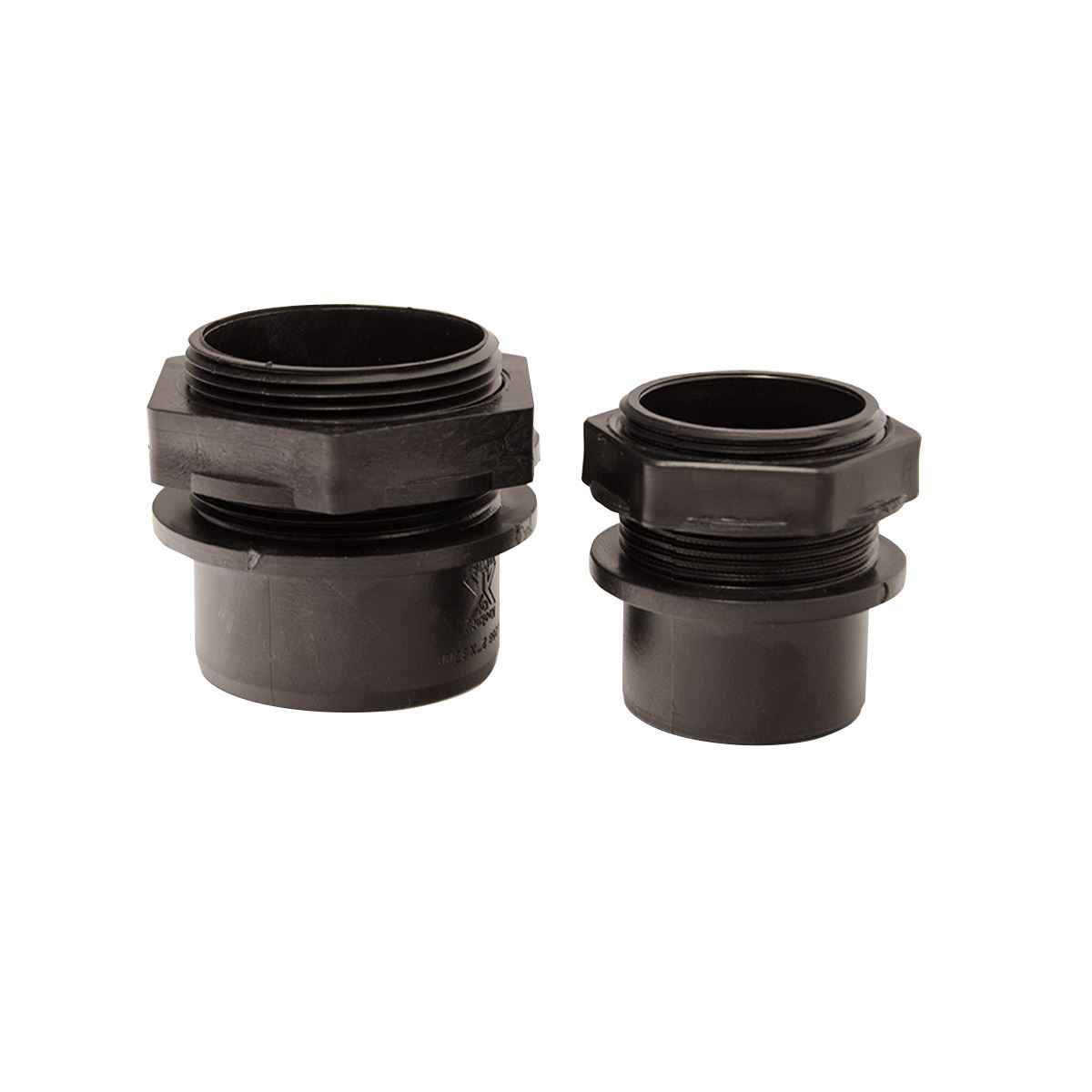 """Solvent Weld Liner Connector Pond Pipe Fittings 1.5/"""" Tank"""