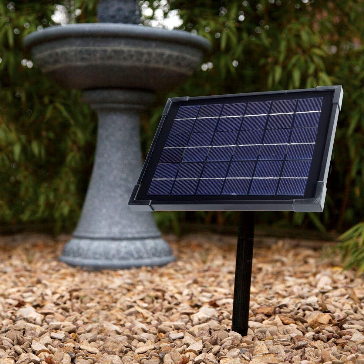 BLAGDON LIBERTY 5 WATT SOLAR PANEL FOR GARDEN OUTDOOR WATER FEATURES ACCESSORY