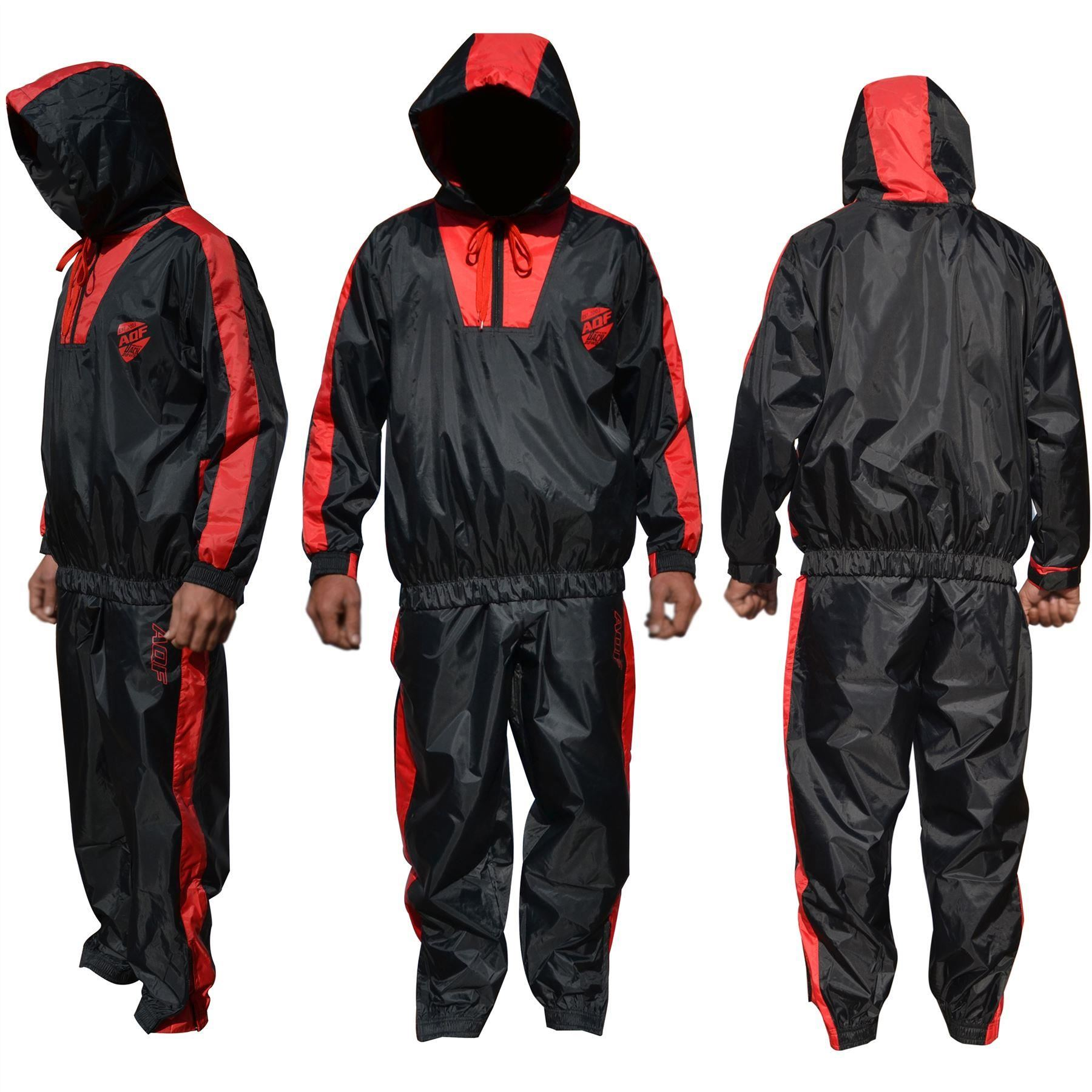 AQF Heavy Duty Sauna Sweat Suit Track Suit Weight loss ...