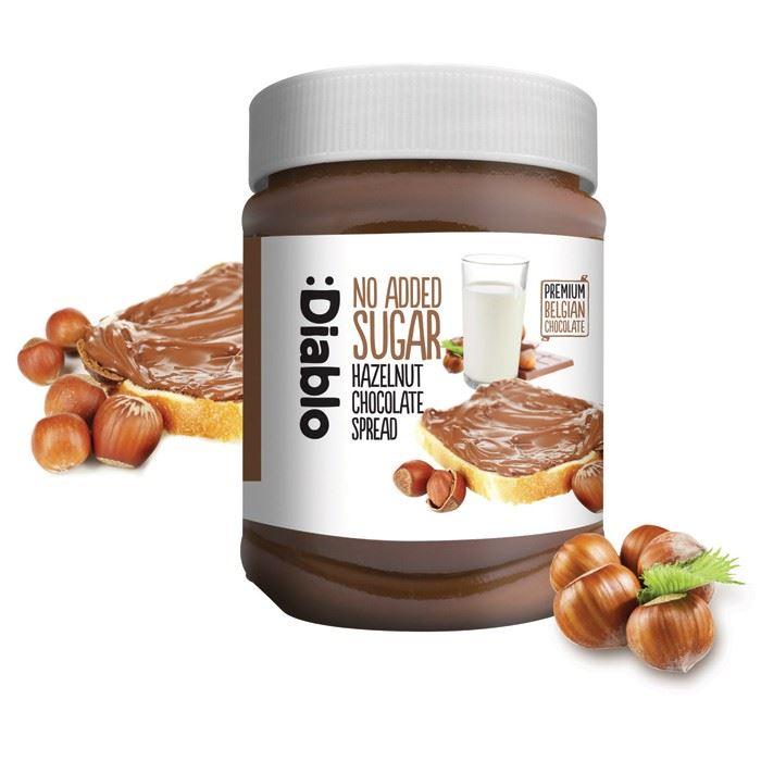 Details About Diablo Sugar Free Hazelnut Chocolate Spread 350g