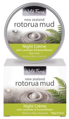 Wild Ferns Rotorua Thermal Night Cream 95g