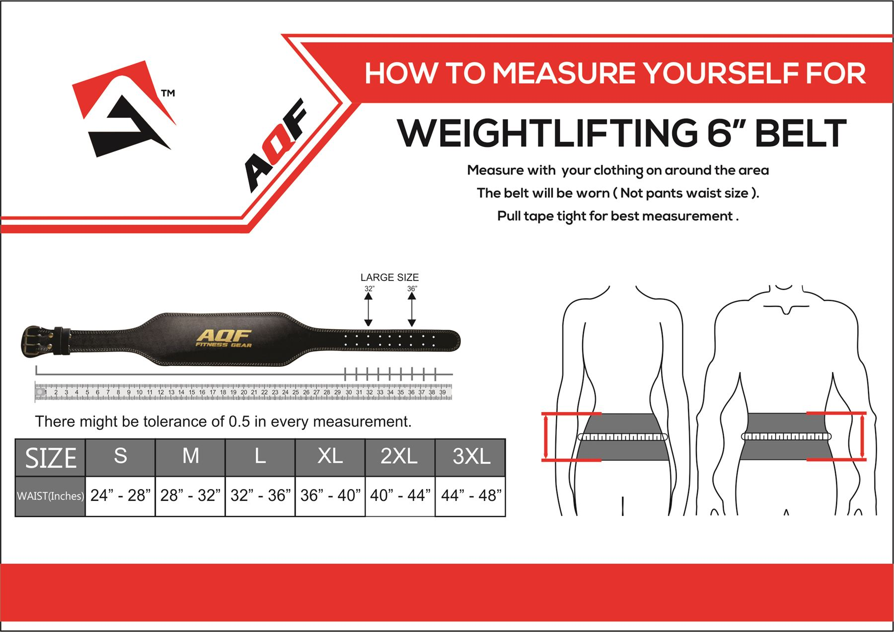 Details about AQF Weight Lifting 6