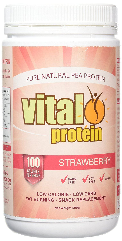 Vital Grüns Grüns Vital Vital Protein Strawberry 500g 2cb4ae
