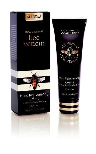 Wild Ferns New Zealand Bee Venom Rejuvenating Hand Cream 80ml