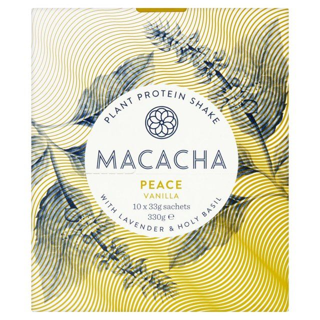 Macacha 330g  Plant Protein Shake Peace 330g Macacha 3b281c