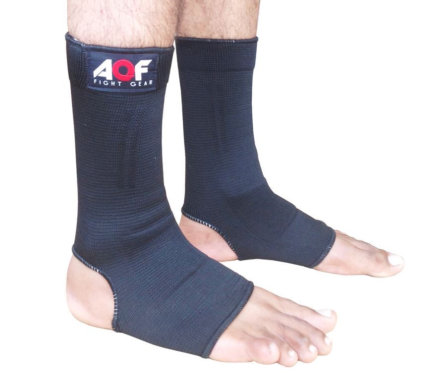 AQF Ankle Foot Support Anklet Pad Brace Guard MMA Muay Thai Boxing Exercise