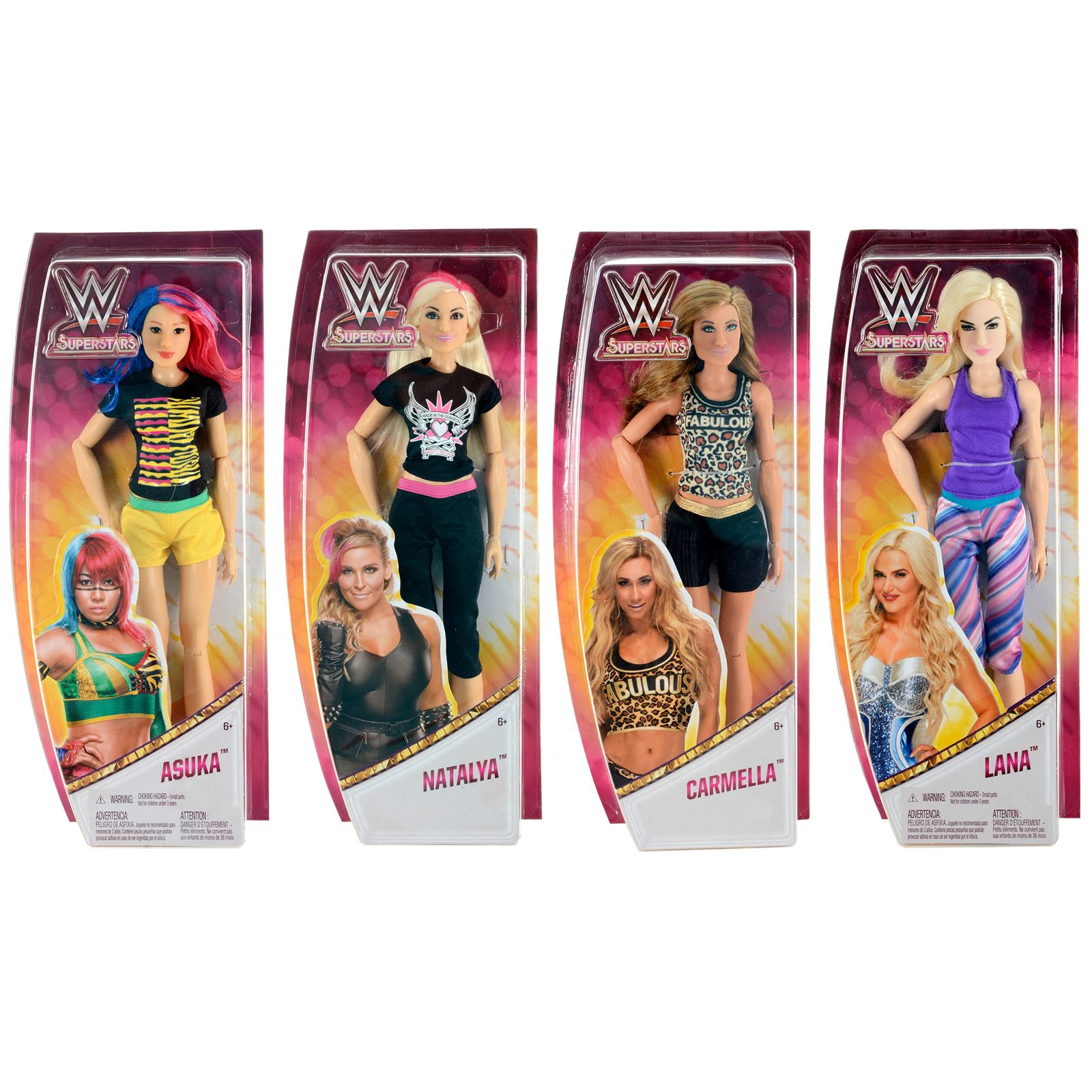 female wrestler fashion dolls