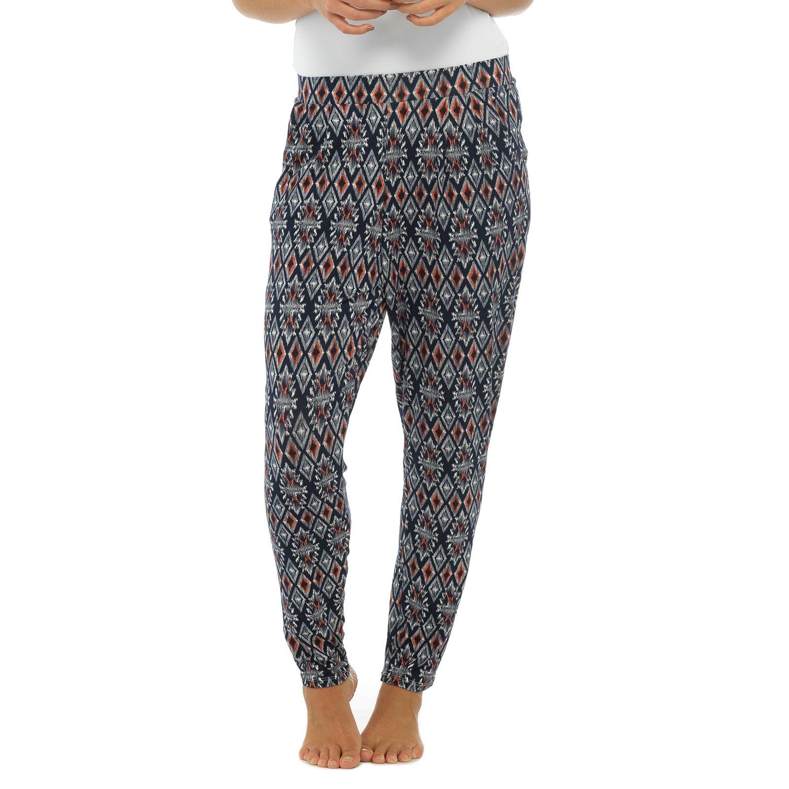 enjoy bottom price various styles hot sale Details about Ladies Full Length Jersey Harem Pants Boho Ali Baba Baggy  Leggings Trousers