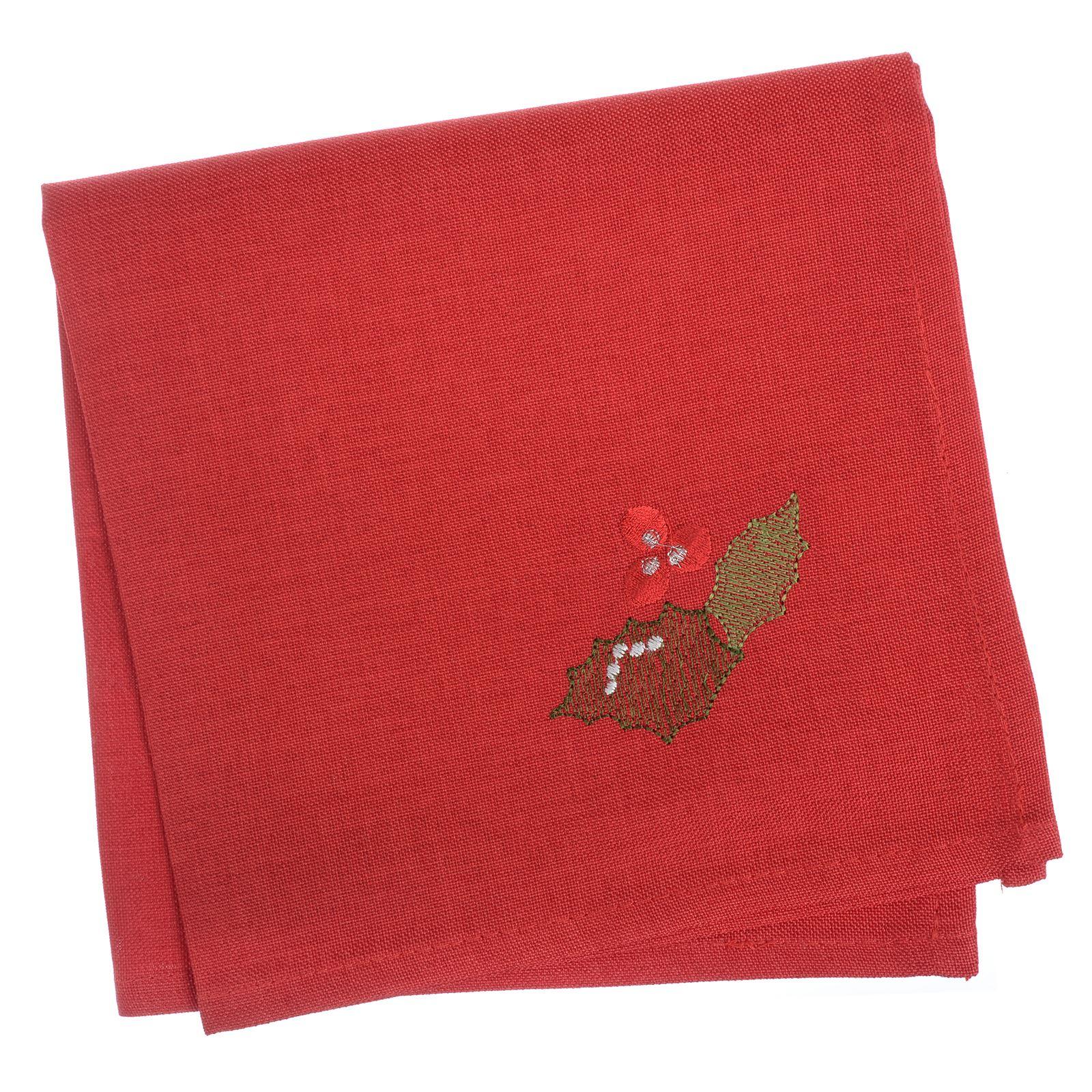 Christmas-Tablecloth-Festive-Pattern-Rectangle-Round-Fabric-Xmas-Room-Decoration Indexbild 91