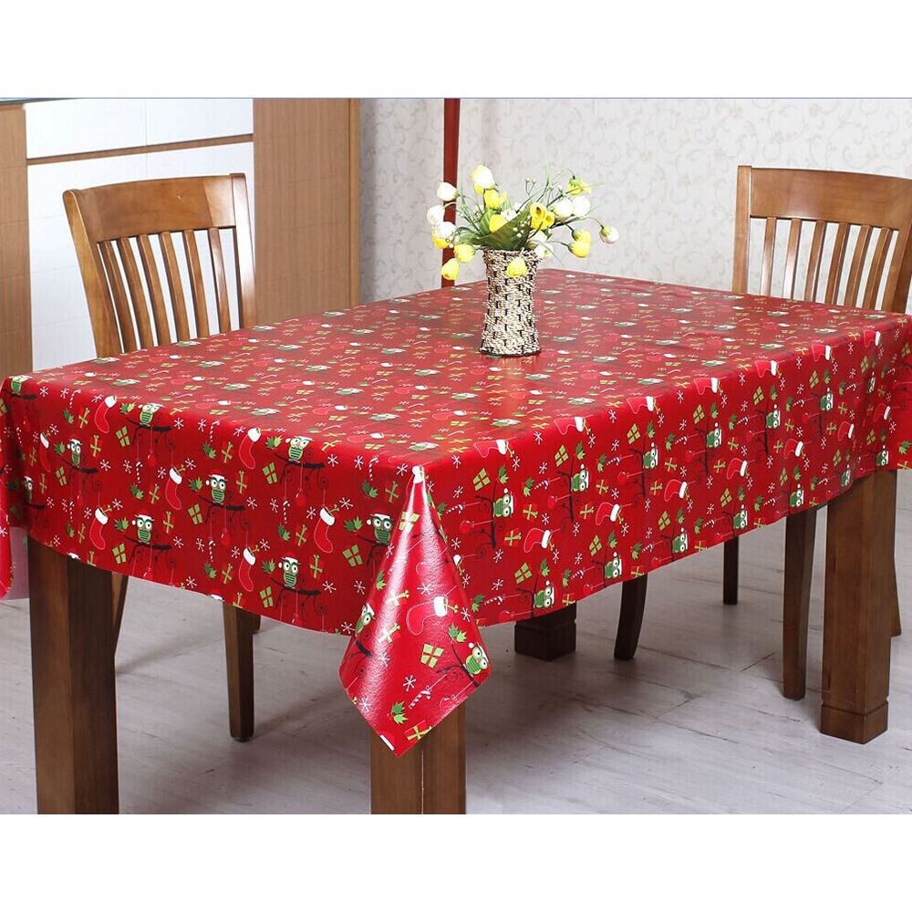 Superbe Wipe Clean PVC Vinyl Tablecloth Dining Kitchen Table
