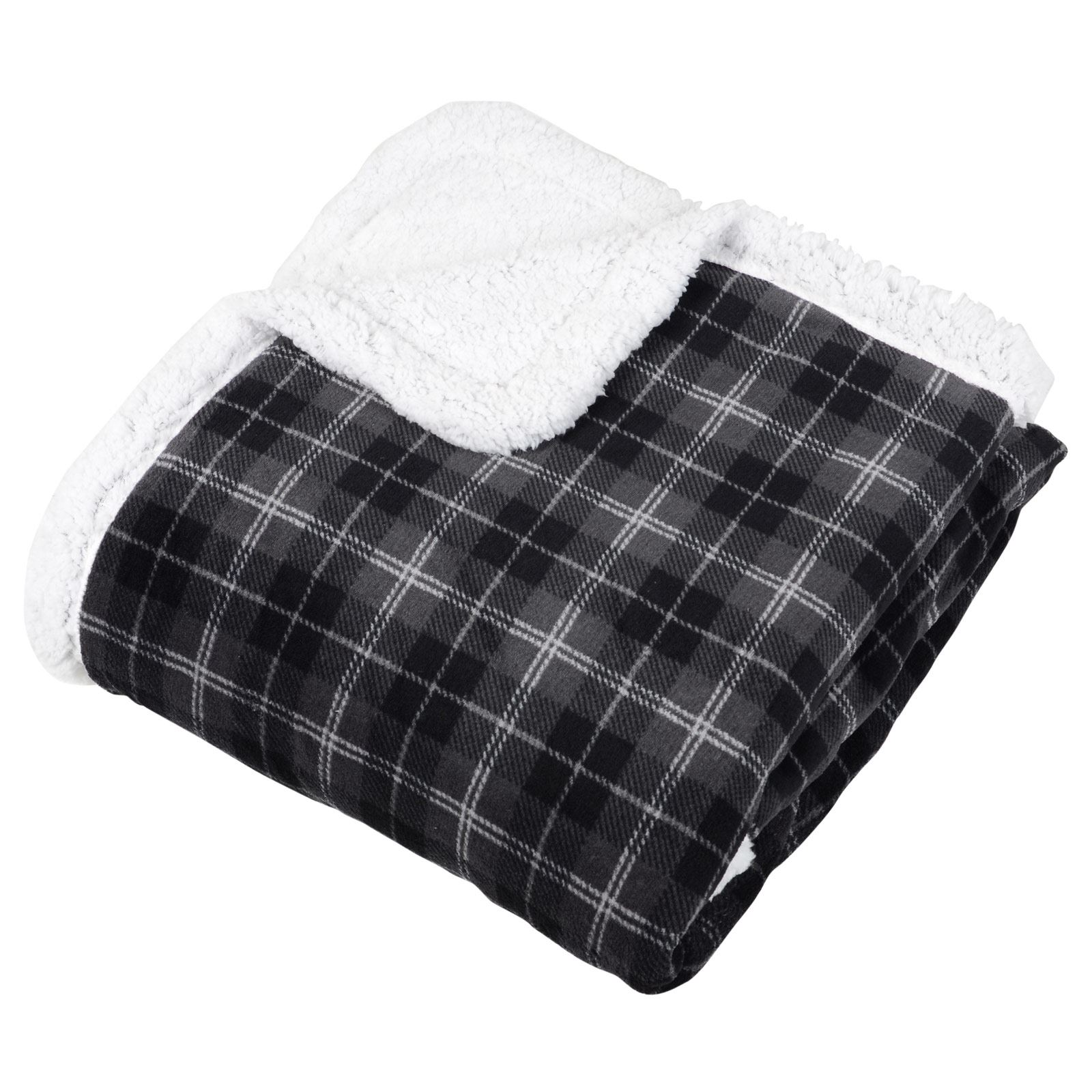 Warm fleece throw