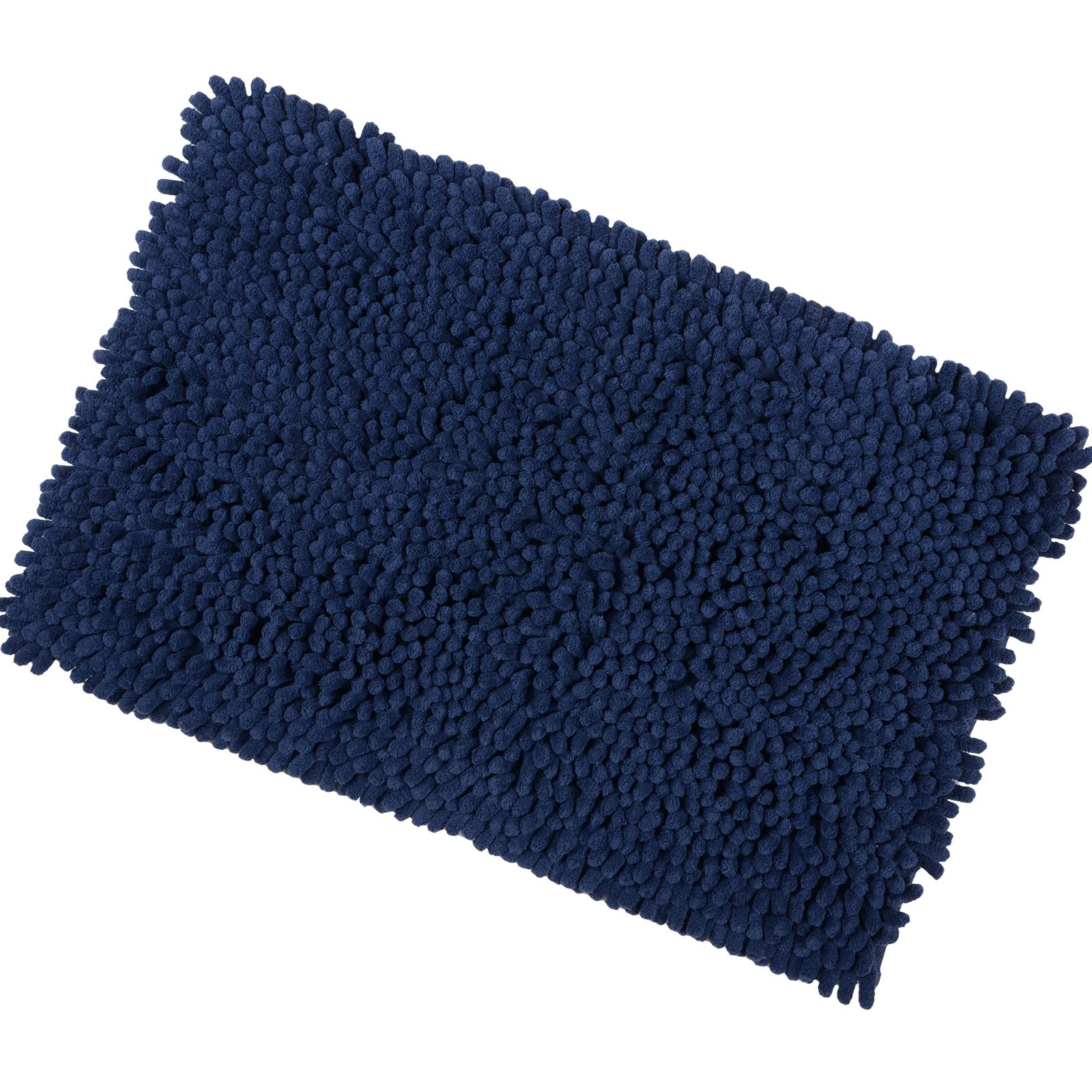 Shaggy Microfibre Bathroom Shower Bath Mat Rug Non Slip