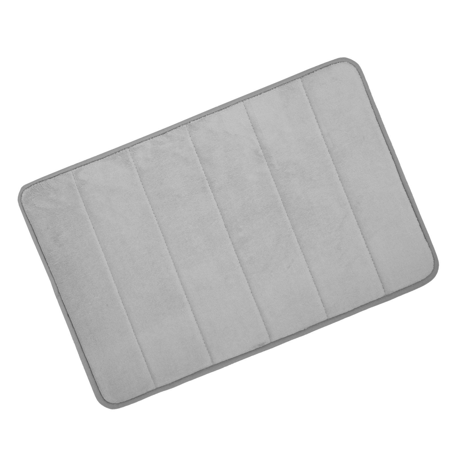 Microfibre Memory Foam Bathroom Shower Bath Mat With Non