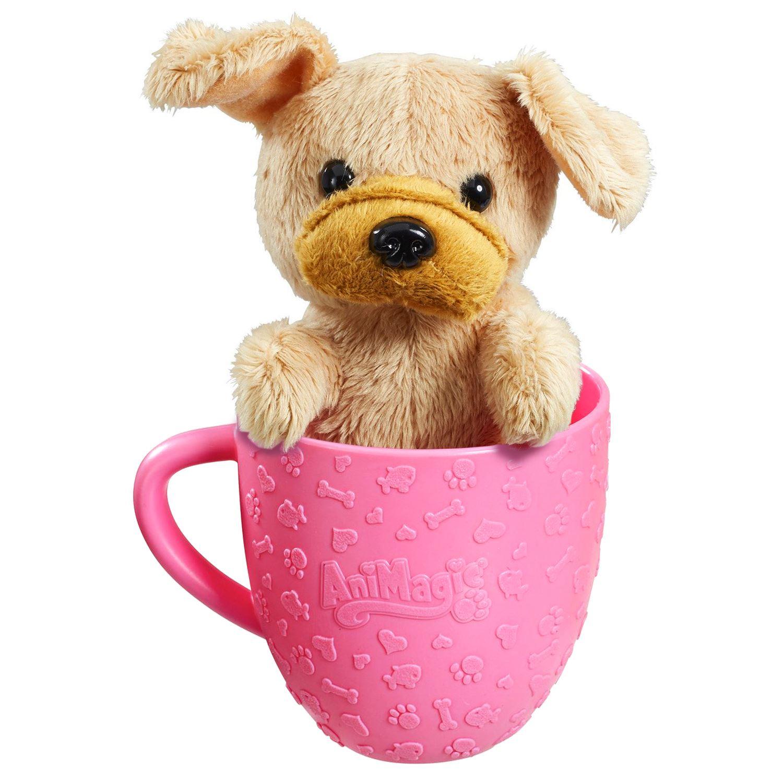 AniMagic Tea Cup Pets Kids Soft Toy Plush