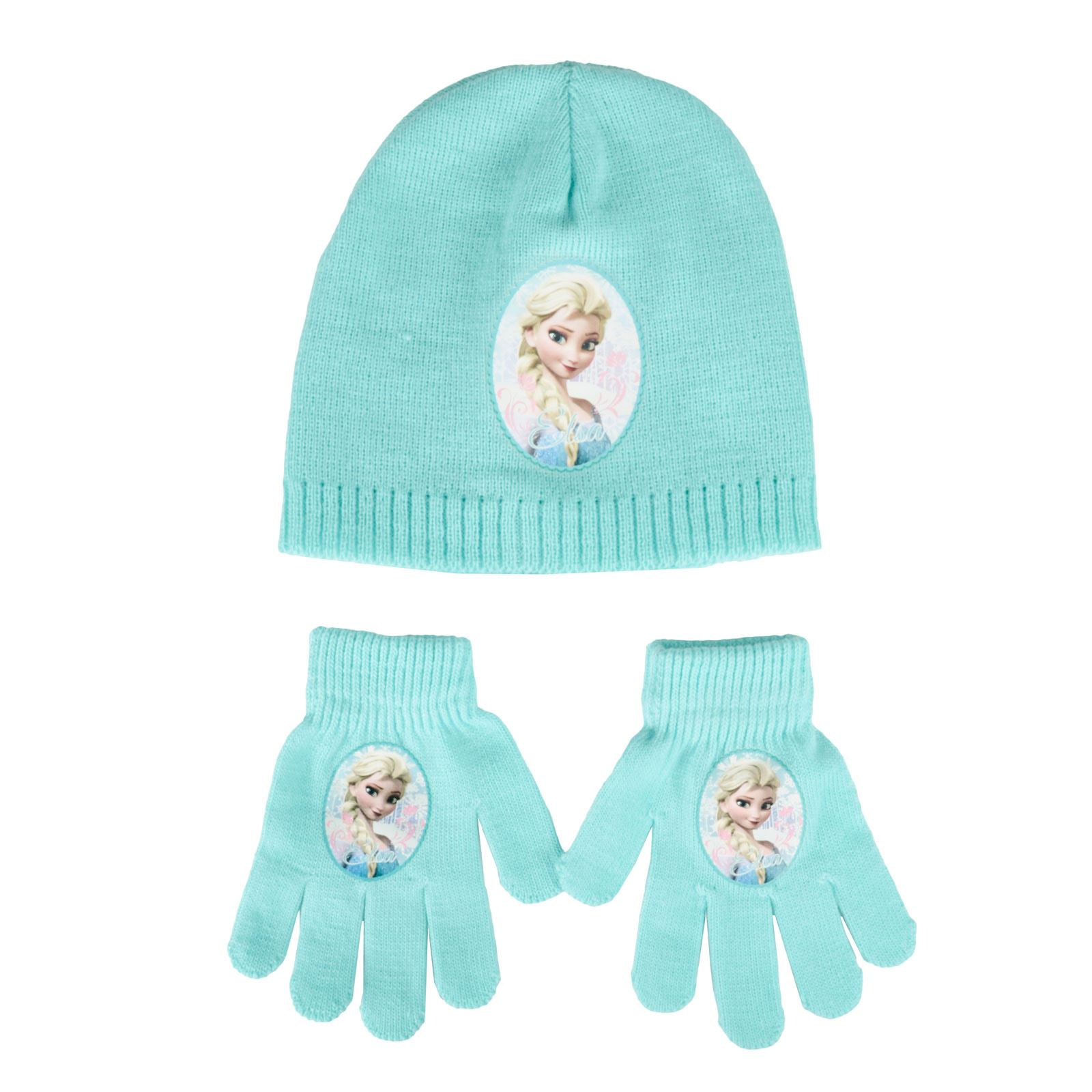 Disney Mickey Mouse Knitted Winter Set Hat Scarf & Gloves Toddlers Boys One Size Puppen Spielzeug