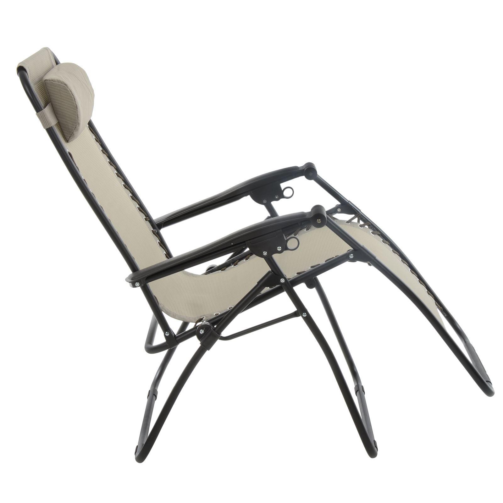 Azuma Relaxer Chair Zero Gravity Textilene Garden Multi