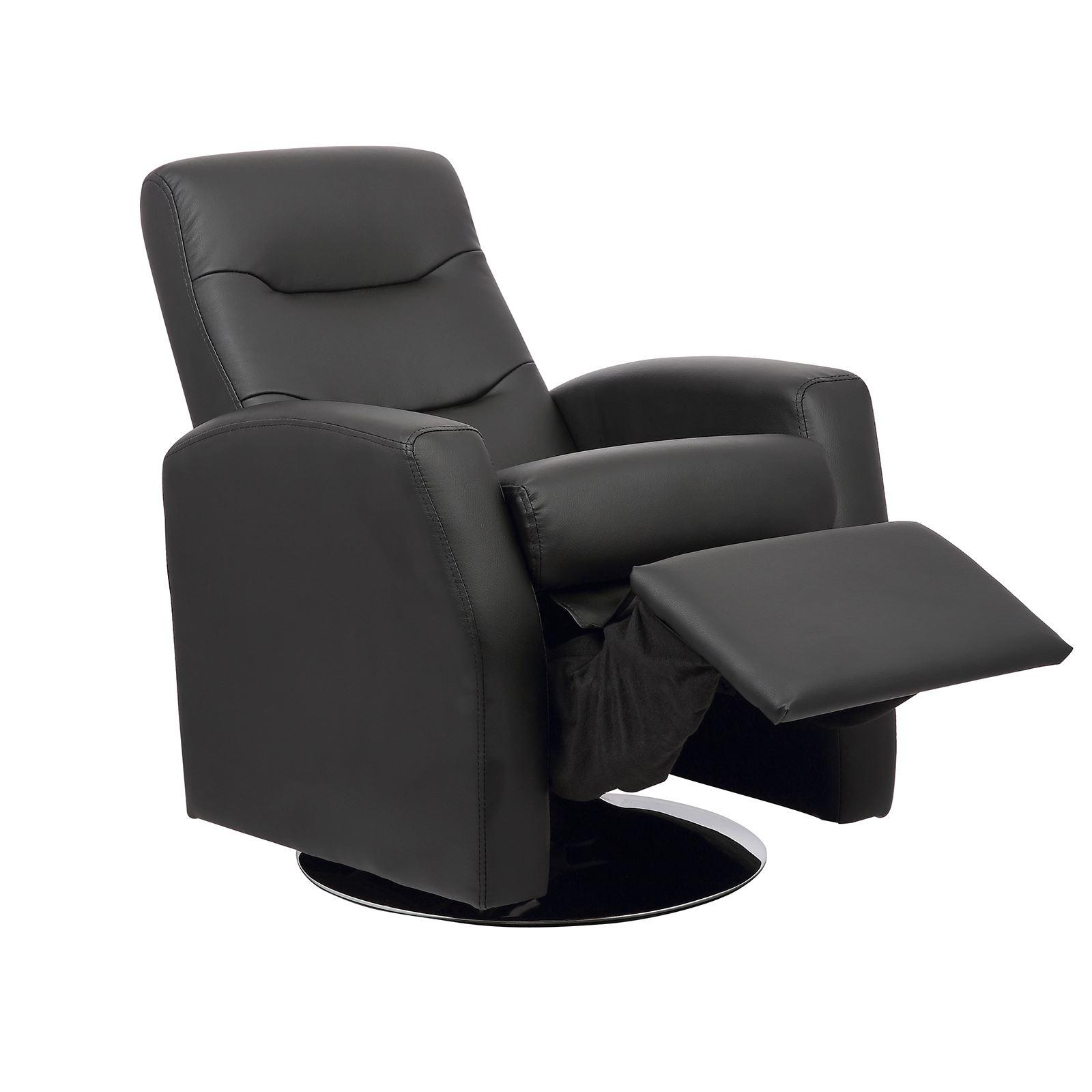Luxury Kids Reclining Swivel Chair Childrens Comfortable ...