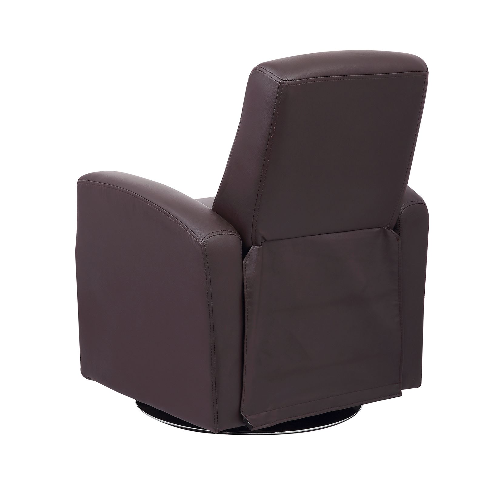 Luxury Kids Reclining Swivel Chair Childrens Comfortable Faux