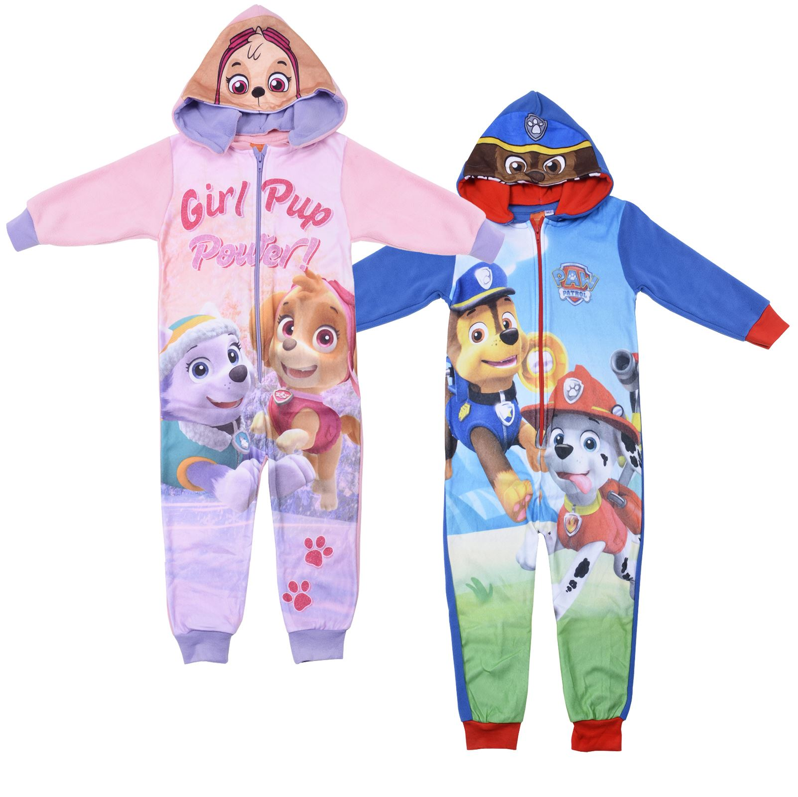 Disney Marvel 1onesie All In One Pyjamas Kids Boys Girls Character Fleece New