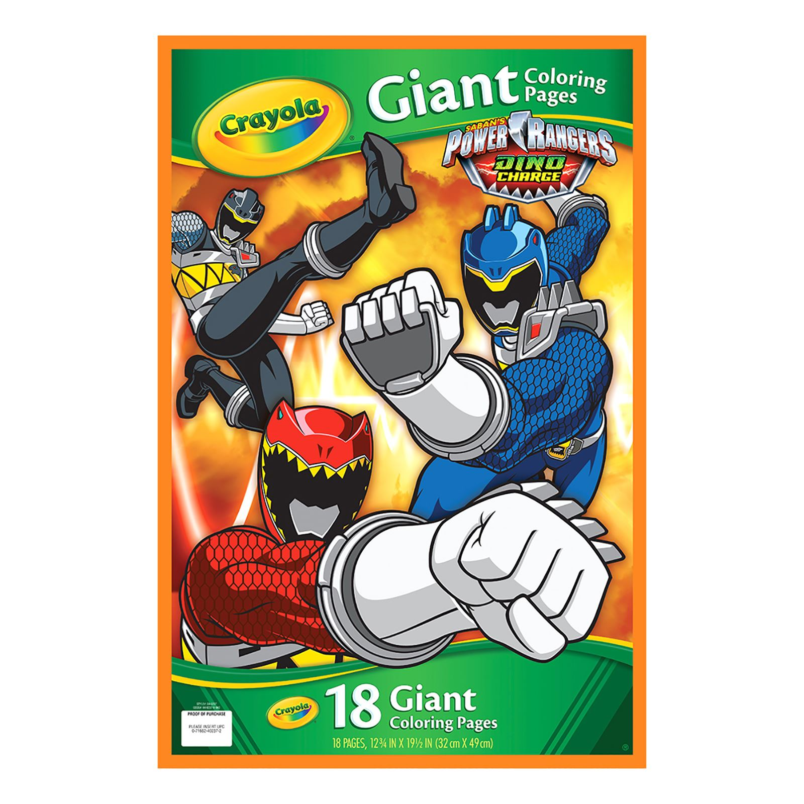 crayola 49cm giant colouring pages avengers power rangers princess