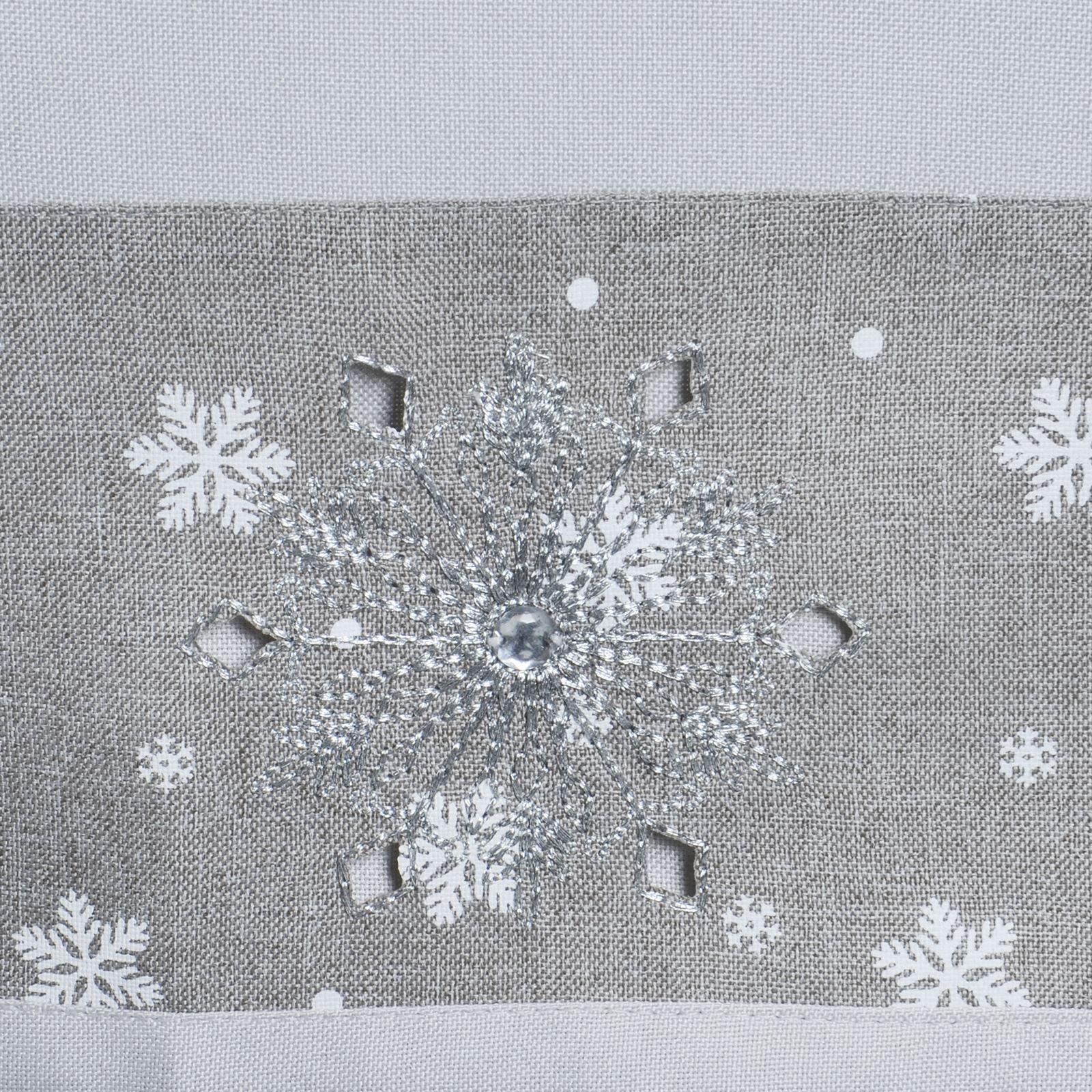 Christmas-Tablecloth-Festive-Pattern-Rectangle-Round-Fabric-Xmas-Room-Decoration Indexbild 67