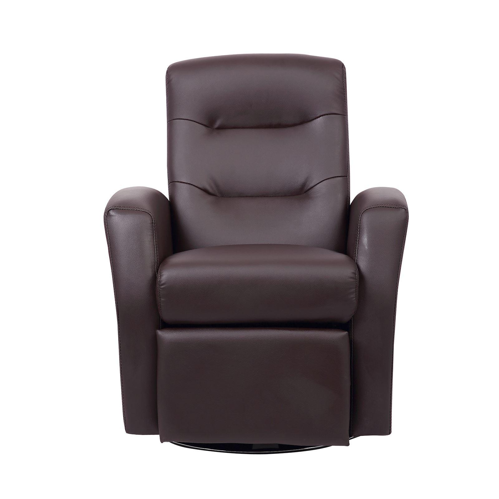 Bon Luxury Kids Reclining Swivel Chair Childrens Comfortable Faux