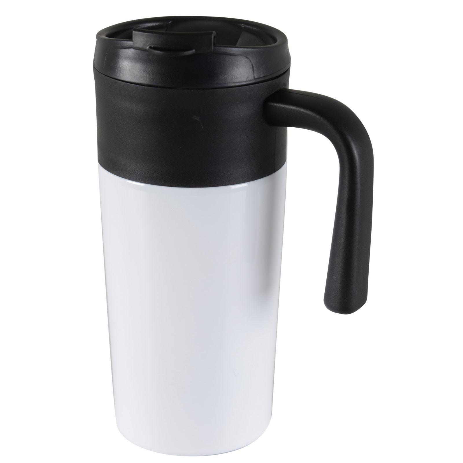 Tazza 450ml Thermal Mug Hot Warm Drinks Coffee Tea Travel