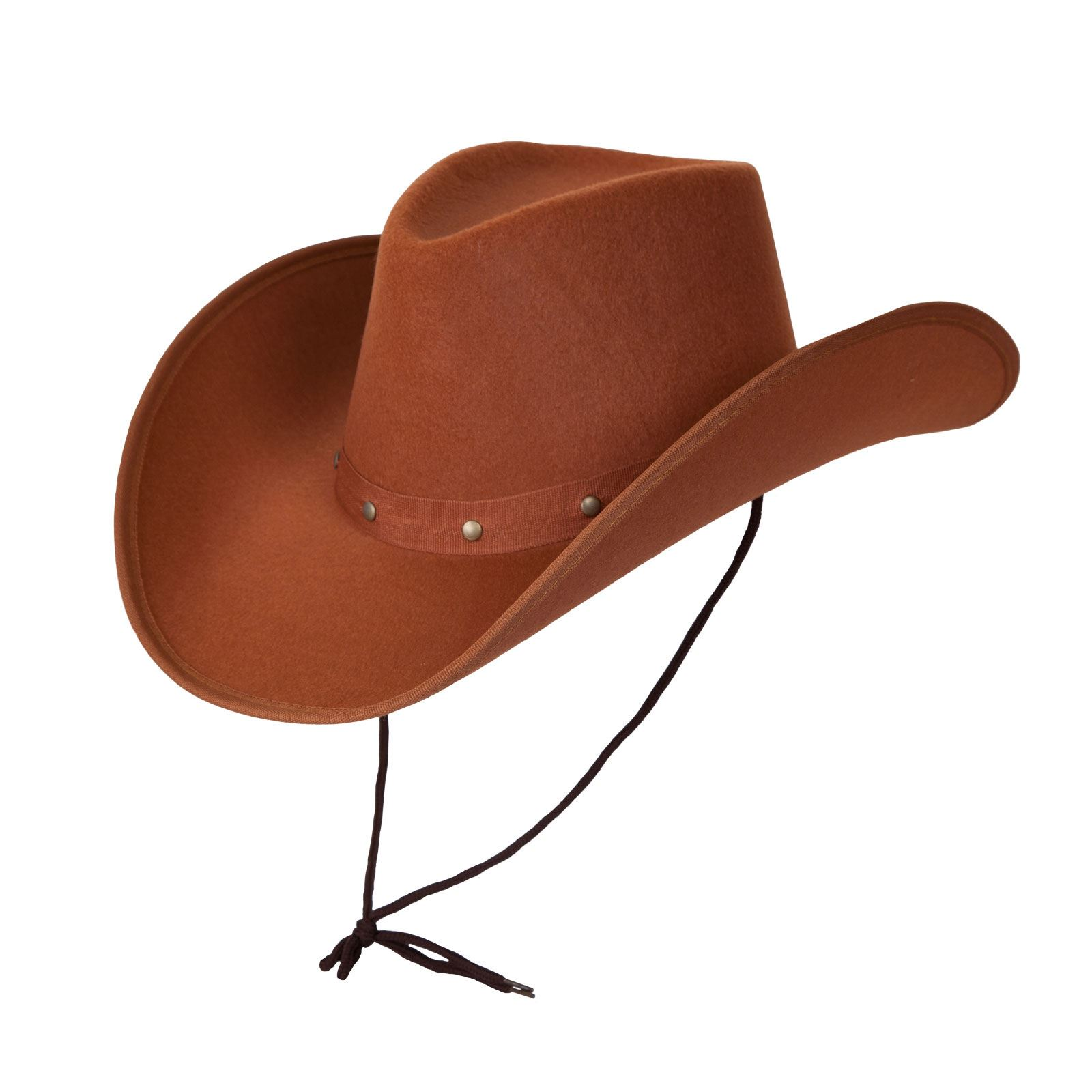 c753dd714d8 Adult Texan Cowboy Hat Brown Fancy Dress Party Accessory Country Western  Rancher