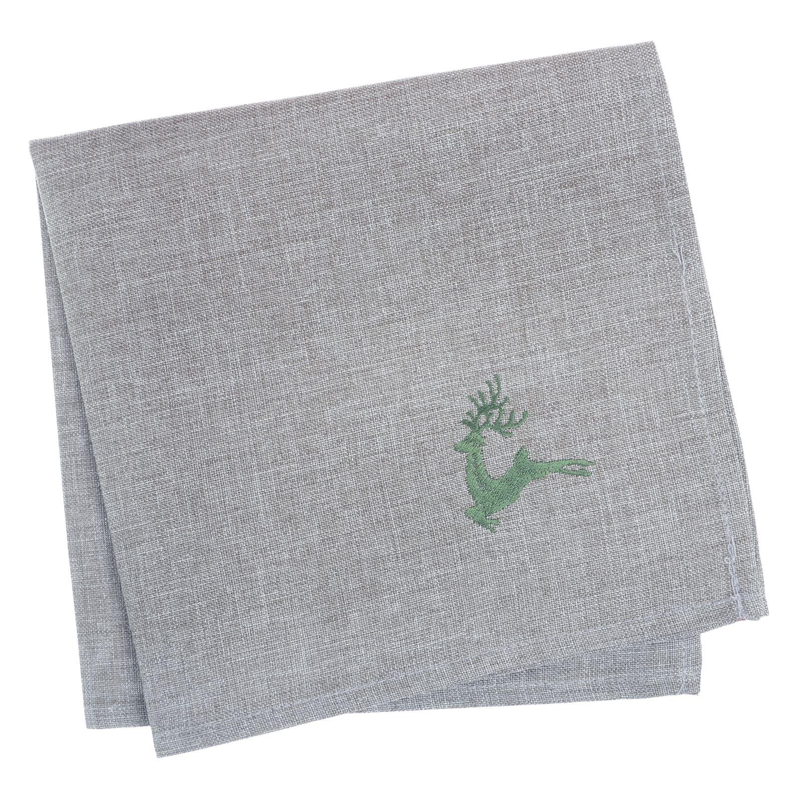 Christmas-Tablecloth-Festive-Pattern-Rectangle-Round-Fabric-Xmas-Room-Decoration Indexbild 115