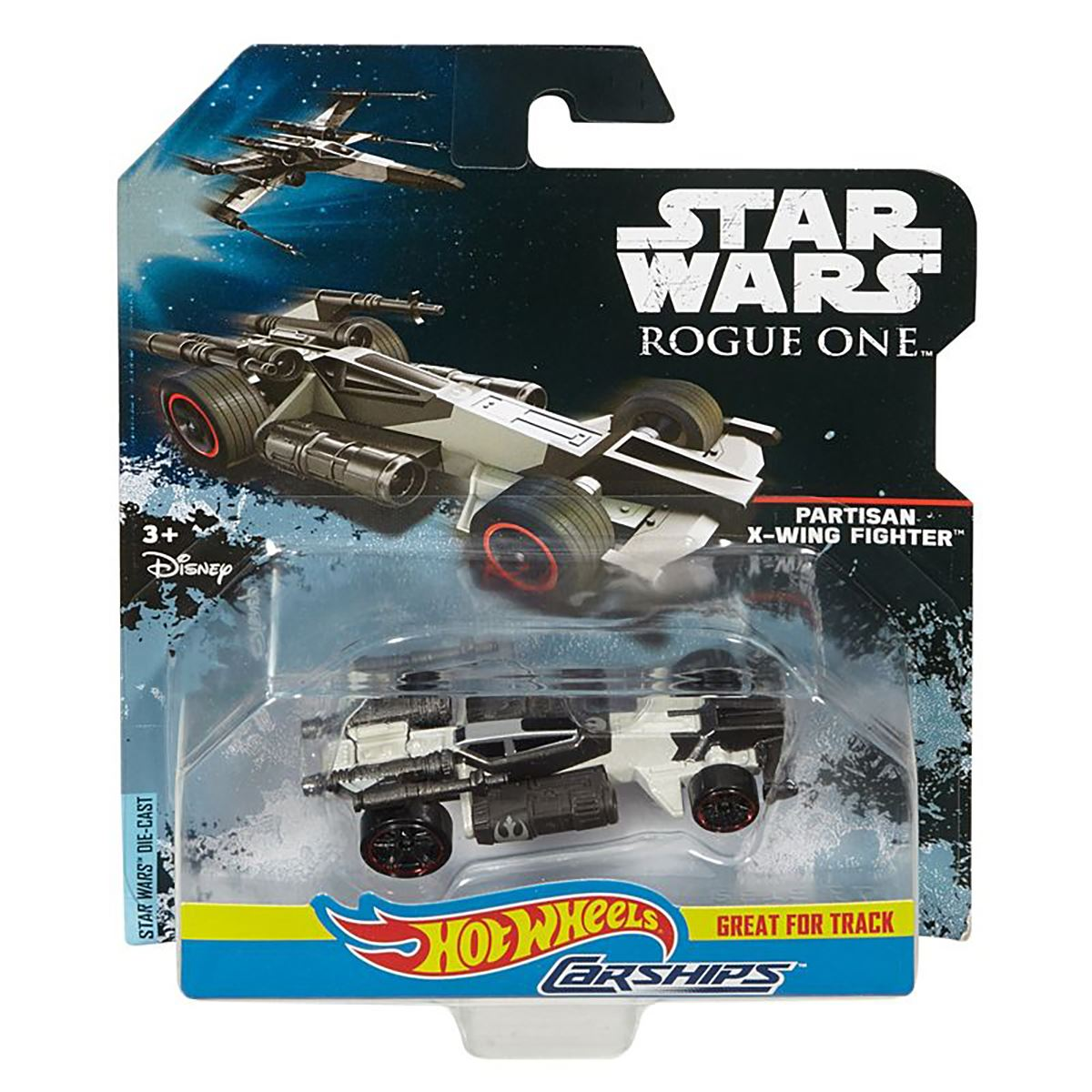 Hot Wheels Star Wars Carships Diecast Spaceship Rogue One ...
