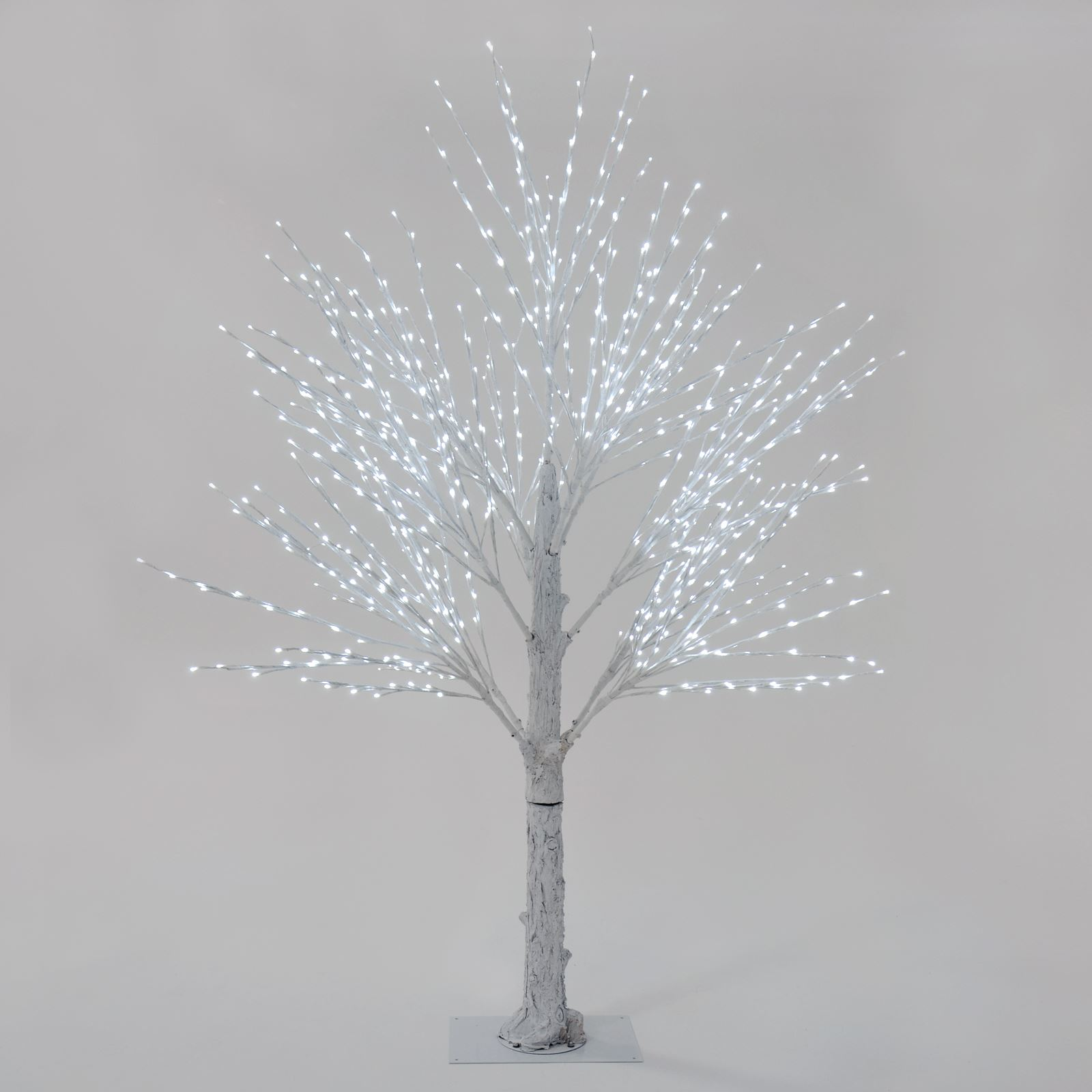 Giant Luxury White Twig Christmas Tree LED Lights 180cm ...