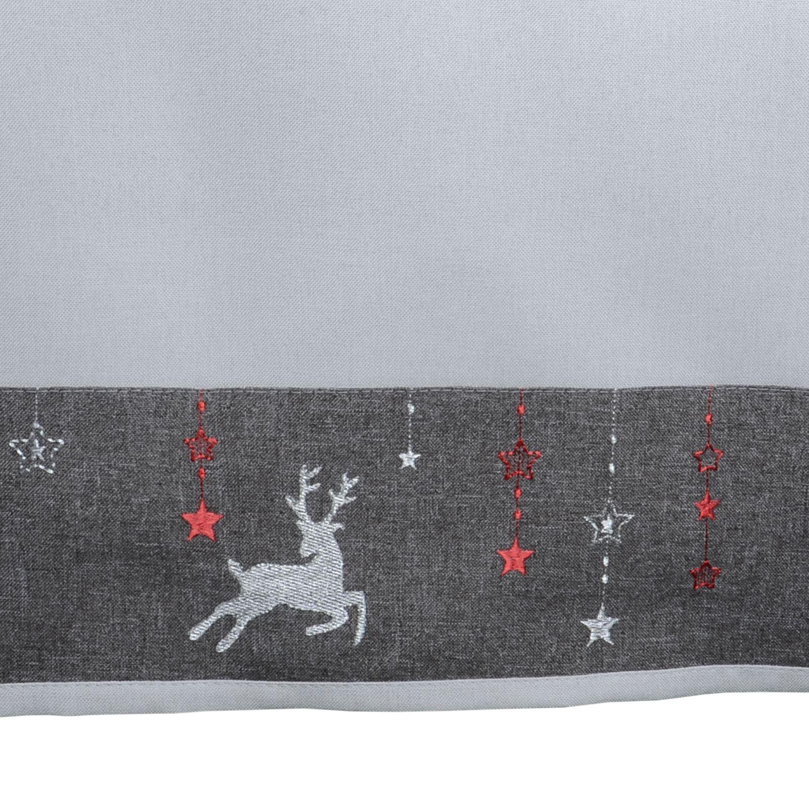 Christmas-Tablecloth-Festive-Pattern-Rectangle-Round-Fabric-Xmas-Room-Decoration Indexbild 60