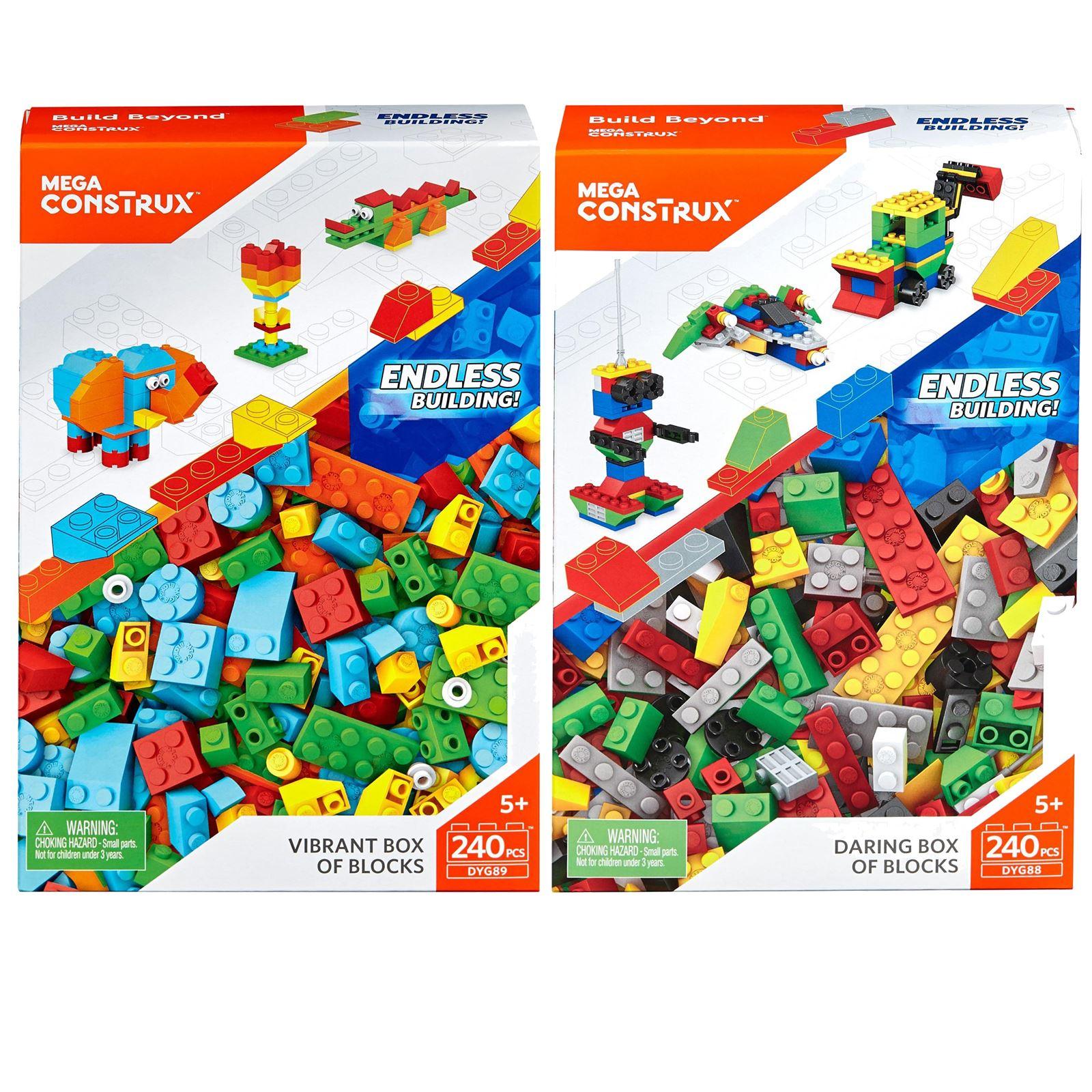Kids Mega Blocks building bricks bundle FREE POSTAGE 1kg.