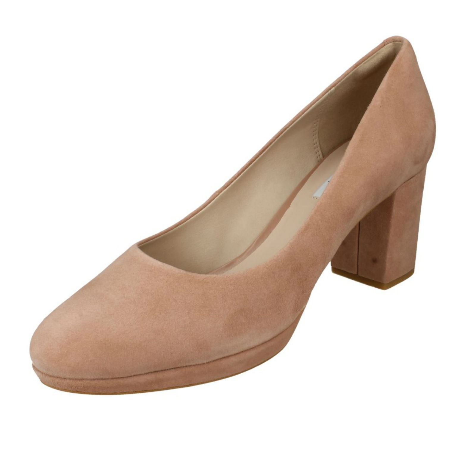 33099be3126 Women s Clarks Kelda Hope Rounded Toe High HEELS in Pink UK 5   EU 38.  About this product. Picture 1 of 10  Picture 2 of 10 ...