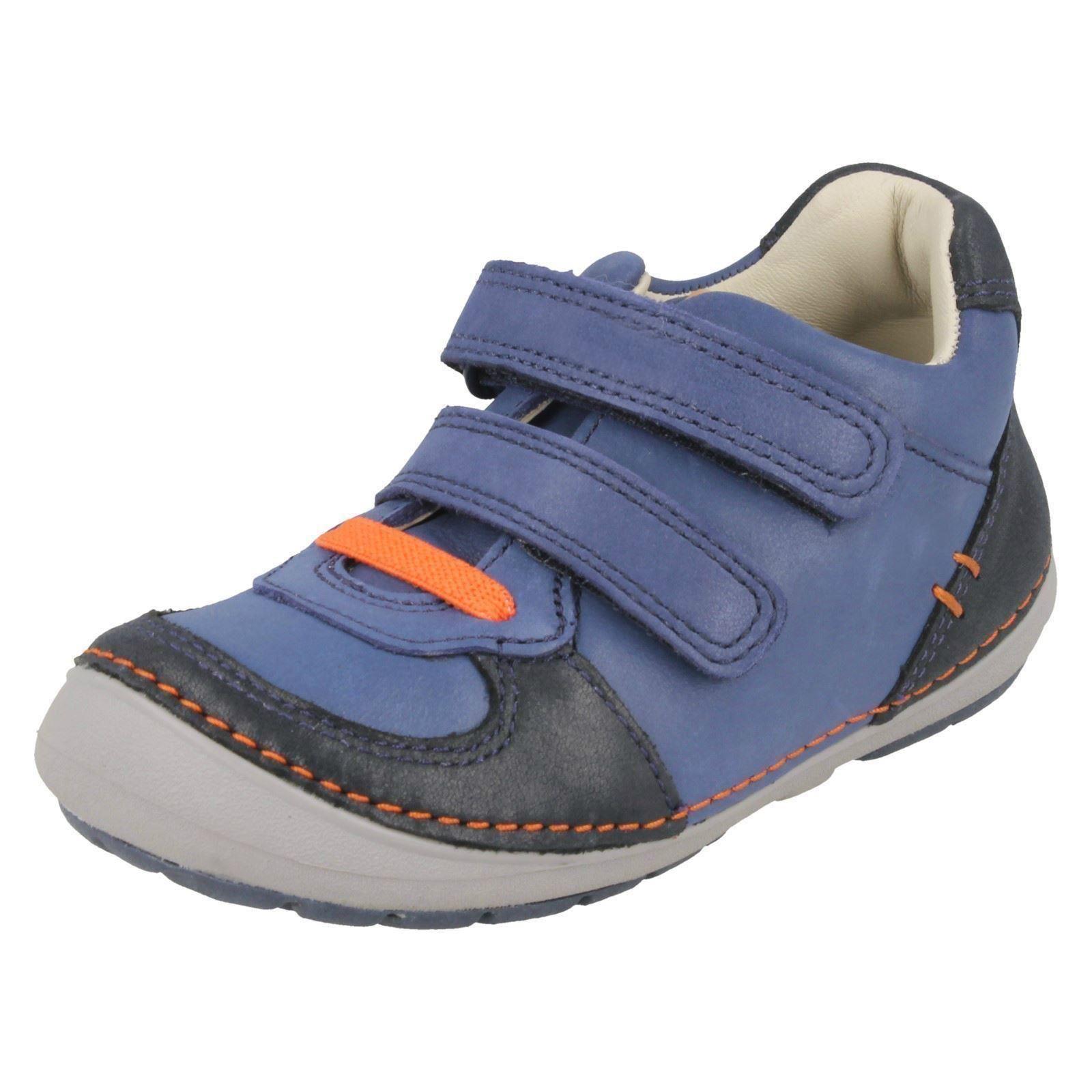 Chicos Niños Casual Zapatillas Zapatos Clarks suavemente Pow