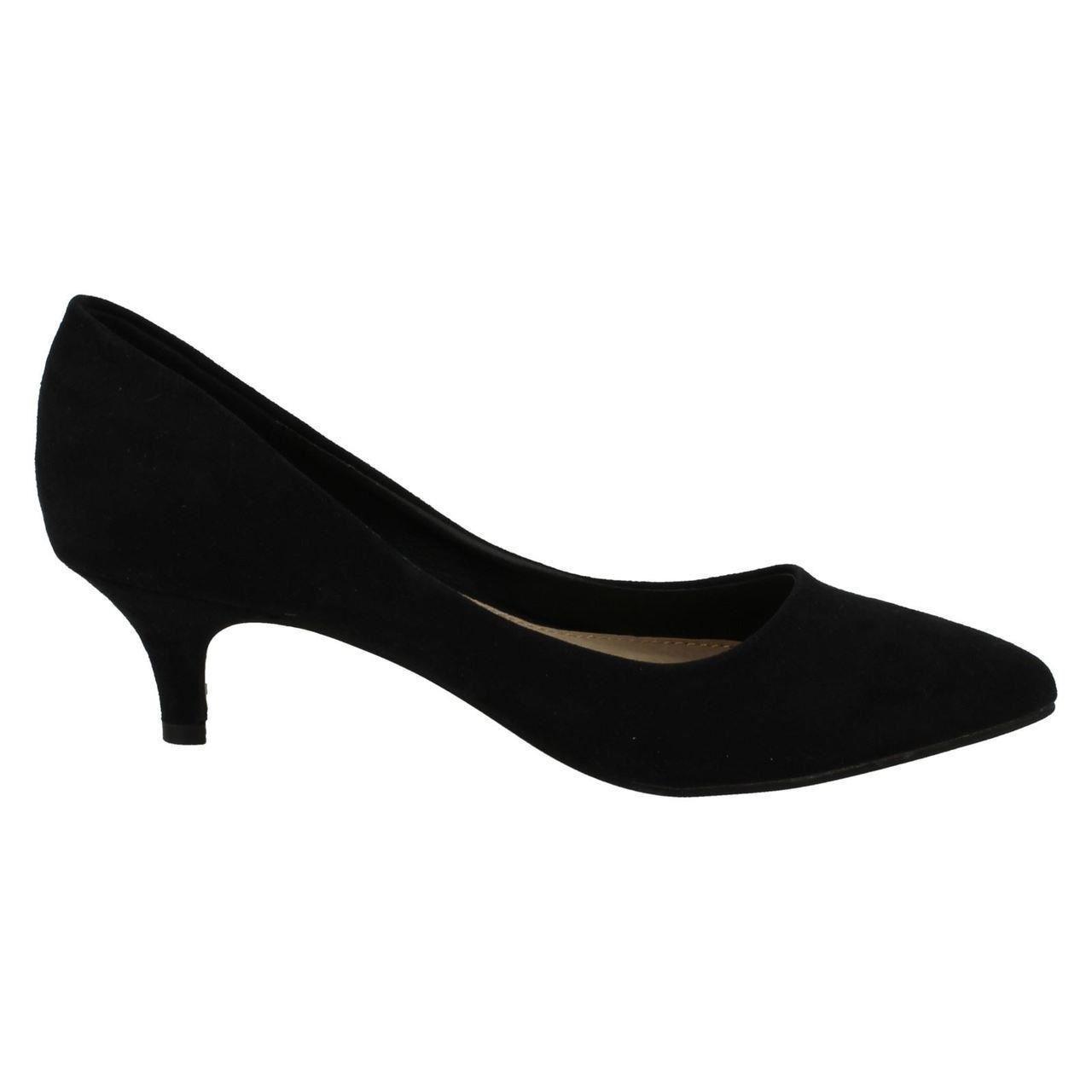 Damas Spot on F9658 Tribunal Zapatos Imitación Gamuza cotidianos ~ K