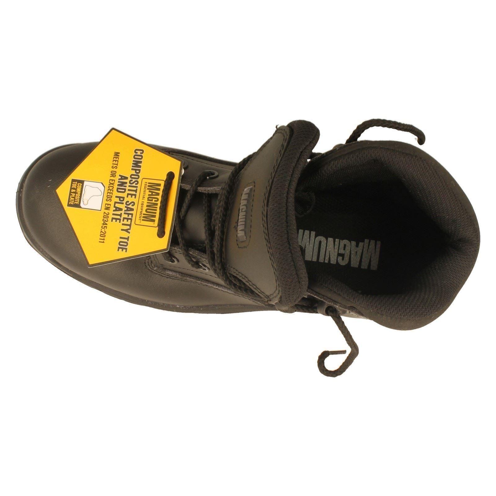 Hombre Magnum Magnum Magnum Safety botas Label Precision Sitemaster -W 477f87